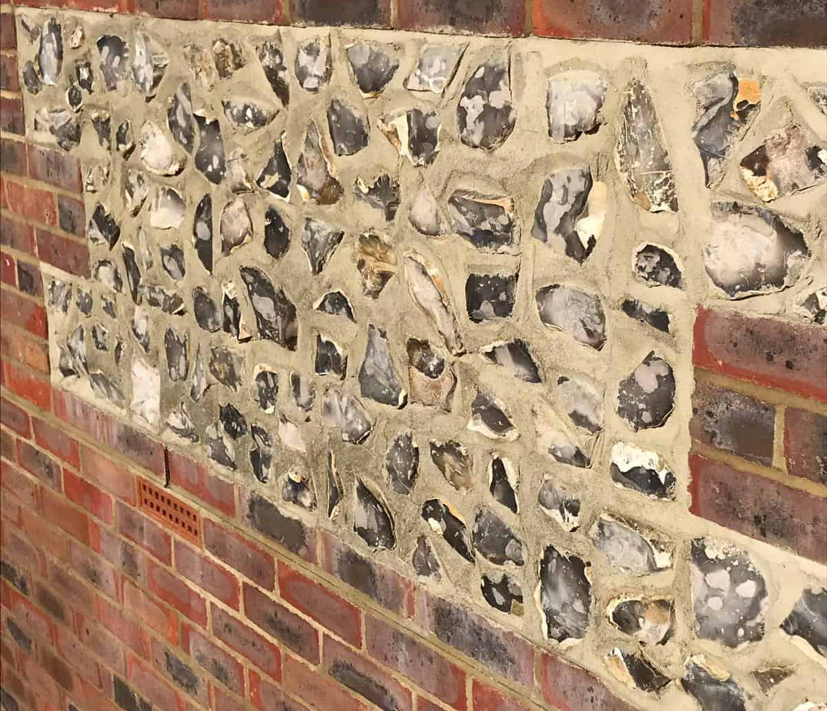flint block pointing
